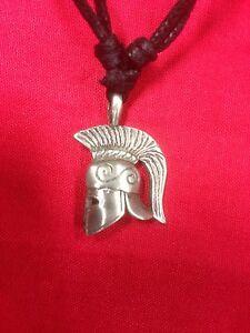 Corinthian-Helmet-Pewter-Pendant
