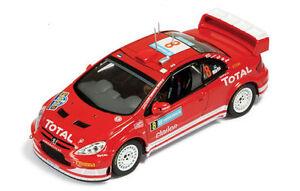 Peugeot-307-WRC-2eme-rallye-Suede2005-pilote-Martin-1-43-IXO-RAM183