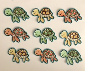 9-Baby-Turtles-Iron-On-Fabric-Appliques