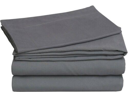 Fitted Bed Sets Flat Sheets 1900 Series 14 Deep Pocket Wrinkel Free