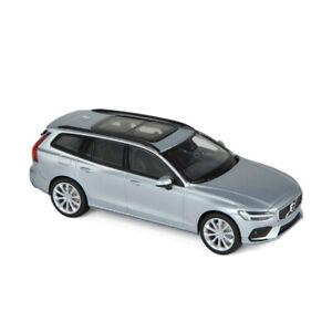 Norev-870017-Volvo-V60-Argent-Masstab-1-43-Maquette-de-Voiture-Neuf