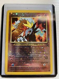 Entei Black Star Promo #34 Factory Rare Holo WOTC Pokemon Card
