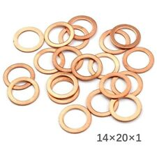Sump Plug Washer-Copper 16.3 x 25 x 2.0mm Pk 50Connect 31715