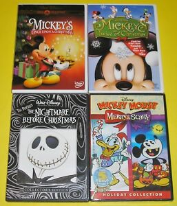 Mickey Mouse Twice Upon A Christmas Dvd.Details About Disney Dvd Lot Mickey S Once Twice Upon A Christmas Nightmare Merry Scary