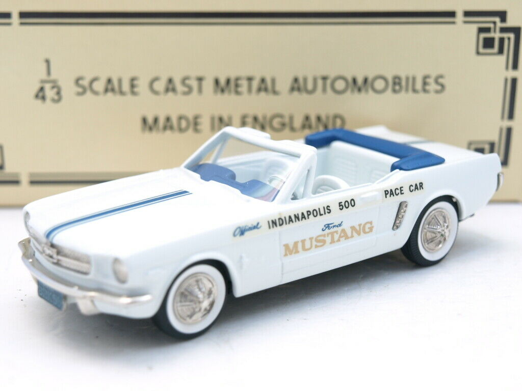Brooklin BRK.56x 1964 Ford Mustang ,Indianapolis Pace Car.