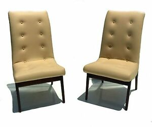 Image Is Loading Pair Art Deco Norman Bel Geddes Restored Leather