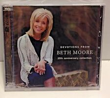 DEVOTIONS FROM BETH MOORE 20th Anniversry Collection 2 cd set New FACTOR SEALED