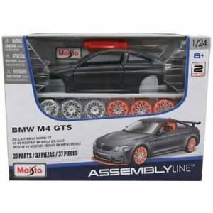 BMW-M4-GTS-Kit-1-24-Coche-de-Juguete-Modelo-de-Metal-Fundido-Die-Cast-Modelos-M-4
