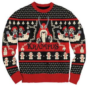 Adult-Unisex-Krampus-Knit-Ugly-Christmas-Sweater