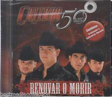 Calibre 50 CD NEW Renovar O Morir ALBUM Contiene 12 Corridos Y Canciones SEALED
