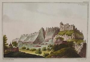 India-Fort-Gwalior-Madhya-Pradesh-Man-Mandir-Palast-Table-Mountain-Ponheimer