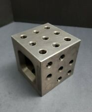 Te Co Qu Co 4x4x4 Fixturing Block Machinist Cube Set Up Angle Plate Modular