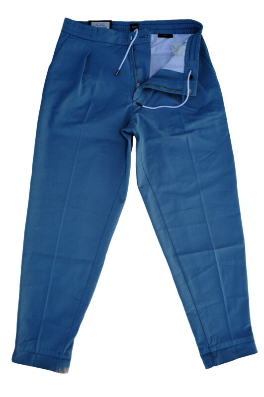 Clever Neu 33/32 Hugo Boss Arlington Jeans Hose Open-blue Relaxed Fit Stretch 50394760