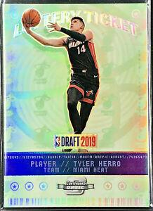 2019-20-Contenders-Optic-Lottery-Ticket-Tyler-Herro-Rookie-Holo-Prizm-Miami-Heat