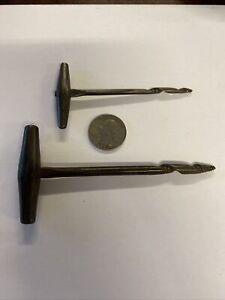 Civil War Era Iron Gimlet Cannon Fuse