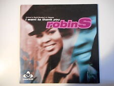 """ROBIN'S : I WANT TO THANK YOU ( EXTENDED MIX 5'35 ) ► Maxi 12"""" ◄"""