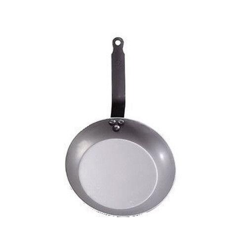 """Made of Heavy Quality Steel de Buyer /""""Carbone Plus/"""" Steel Frying Pan"""