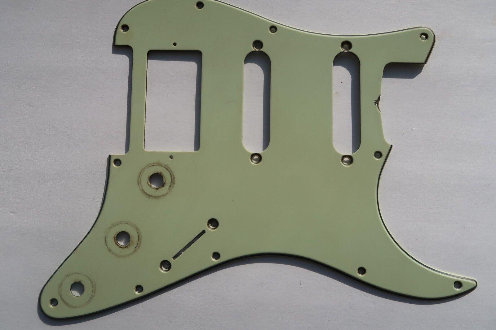 '63 '71 Fender Stratocaster Pickguard SSH Humbucker Mint Grün 66 67 68 70 HB