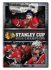NHL 2015 Stanley Cup Champions [DVD] *NEU* Chicago Blackhawks