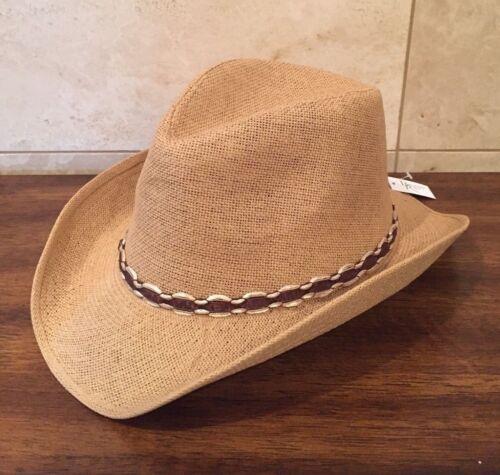 Women/'s Ladies Tan Western Cowgirl Hat