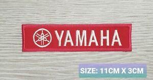 Yamaha team Biker Motor logo Embroidered Iron On/Sew On Patch Badge
