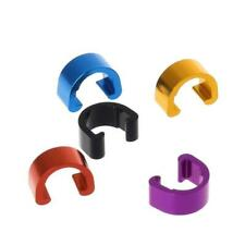20pcs Bicycle Cycle  plastic C-Clips Buckle Hose Brake Gear Cable Housing ju
