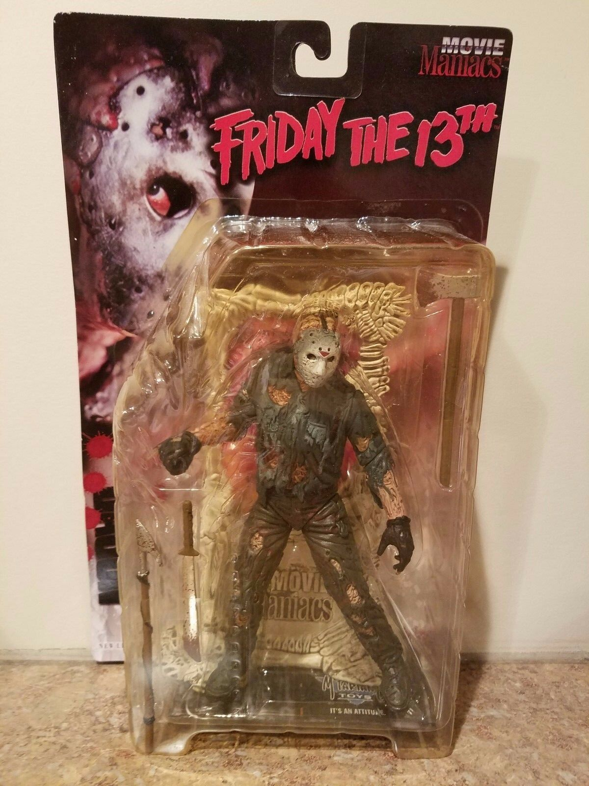 McFarlane Movie Maniacs Series 1 Action Figure Jason Voorhees Friday The 13TH