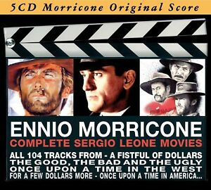 ENNIO-OST-MORRICONE-COMPLETE-SERGIO-LEONE-MOVIES-5-CD-NEU-MORRICONE-ENNIO