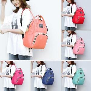 Dot-Print-Large-Nylon-Backpacks-Mommy-Maternity-Bags-Travel-Baby-Care-Diaper-Bag