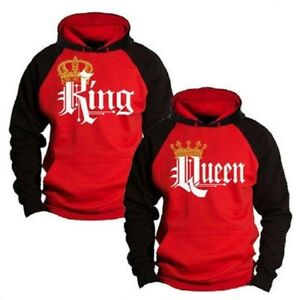 Fashion-Men-Women-Hoodie-Couple-Sweater-King-Queen-Lover-Matching-Hoo-RD