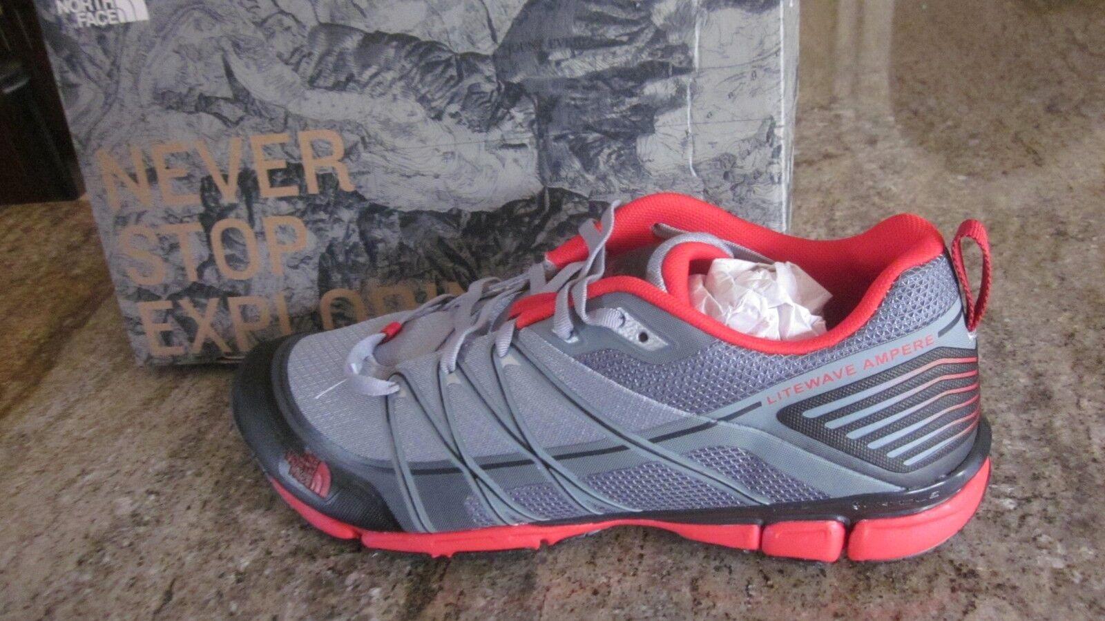 The North Face Men's Litewave Ampere Trainer shoes SZ 8.5