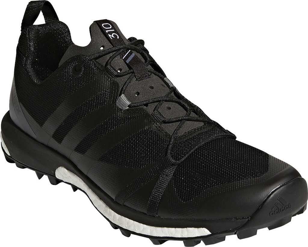 adidas Terrex Agravic Trail Running Shoe Price reduction in Black/Black/Vista - Price reduction