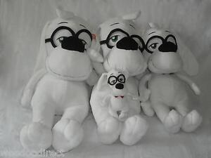 Monsieur Peabody Sherman Soft Plush Dog (cadeau, stock Uk) cadeau