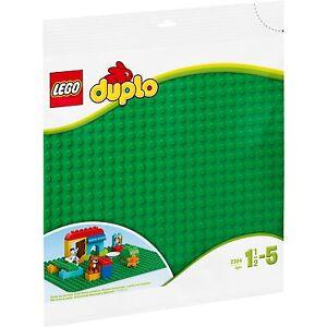 LEGO-DUPLO-Grosse-Bauplatte-gruen-Konstruktionsspielzeug