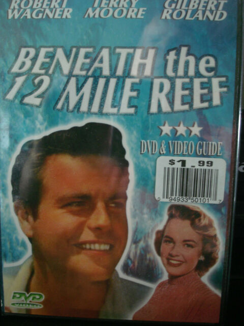 Beneath the 12 Mile Reef (1953) (2007) (DVD, 2007) WORLD SHIP AVAIL