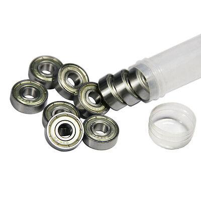 10 x Ball Bearing 608ZZ,8x22x7mm,carbon steel,6082Z,Reprap Prusa Mendel extruder