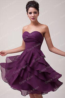 VINTAGE Short Formal Prom Graduation Evening Party Homecoming Bridesmaid Dresses