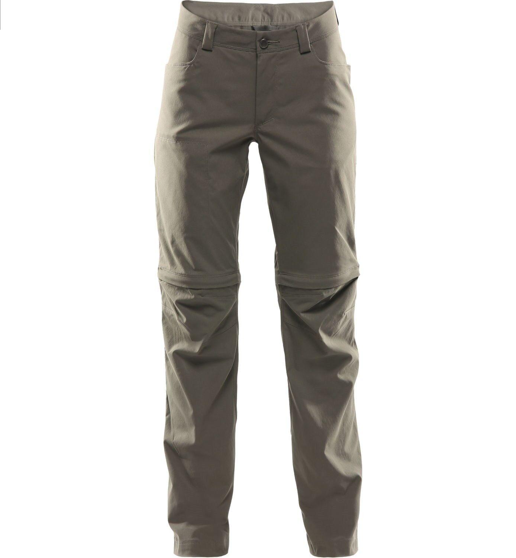 Haglofs Zip Off Pant donna Zip Pantaloni off per Beluga Donna Taglia 38