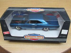 ERTL 1/18 AMERICAN MUSCLE 1969 PLYMOUTH ROAD RUNNER CE CAR