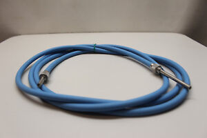 Dyonics Câble De Fibre Optique 2985 Universel 4.0mm X 2.4m Stérilisation Systems Surface LustréE