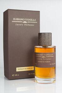 Habano Vanilla Luxury Perfumes  Extrait de Parfum 100ml Vapo
