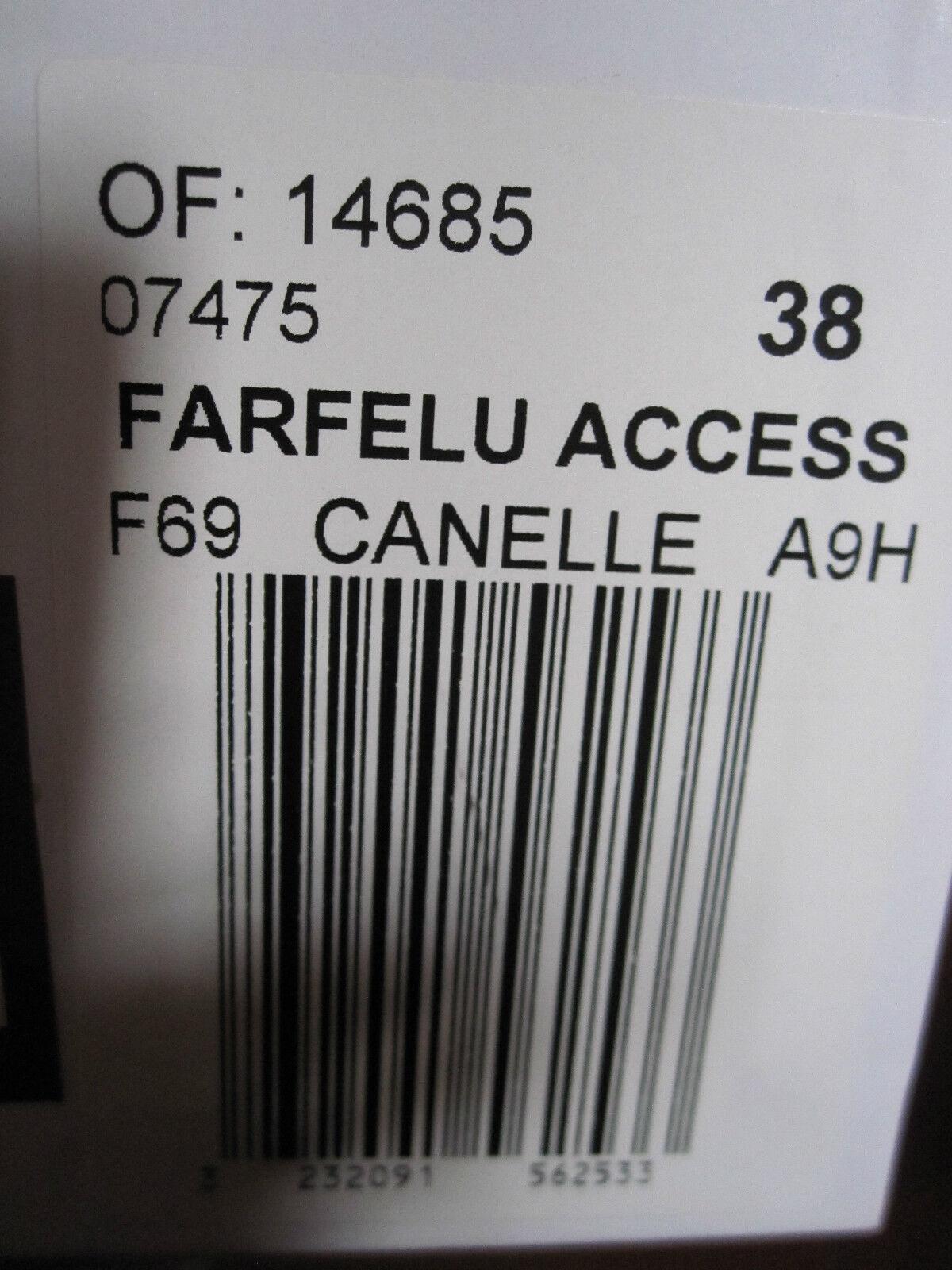 +++ BOTTINES  FARFELU FARFELU FARFELU ACCESS COMPTOIR DES COTONNIERS Talla 38 NEUVE 5ac9e3