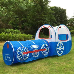 kinderzelt mit tunnel spielzelt b llebad kinderspielzelt pop up zelt babyzelt ebay. Black Bedroom Furniture Sets. Home Design Ideas