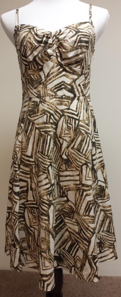 BANANA REPUBLIC~Size 6~Lined~Sleeveless Dress