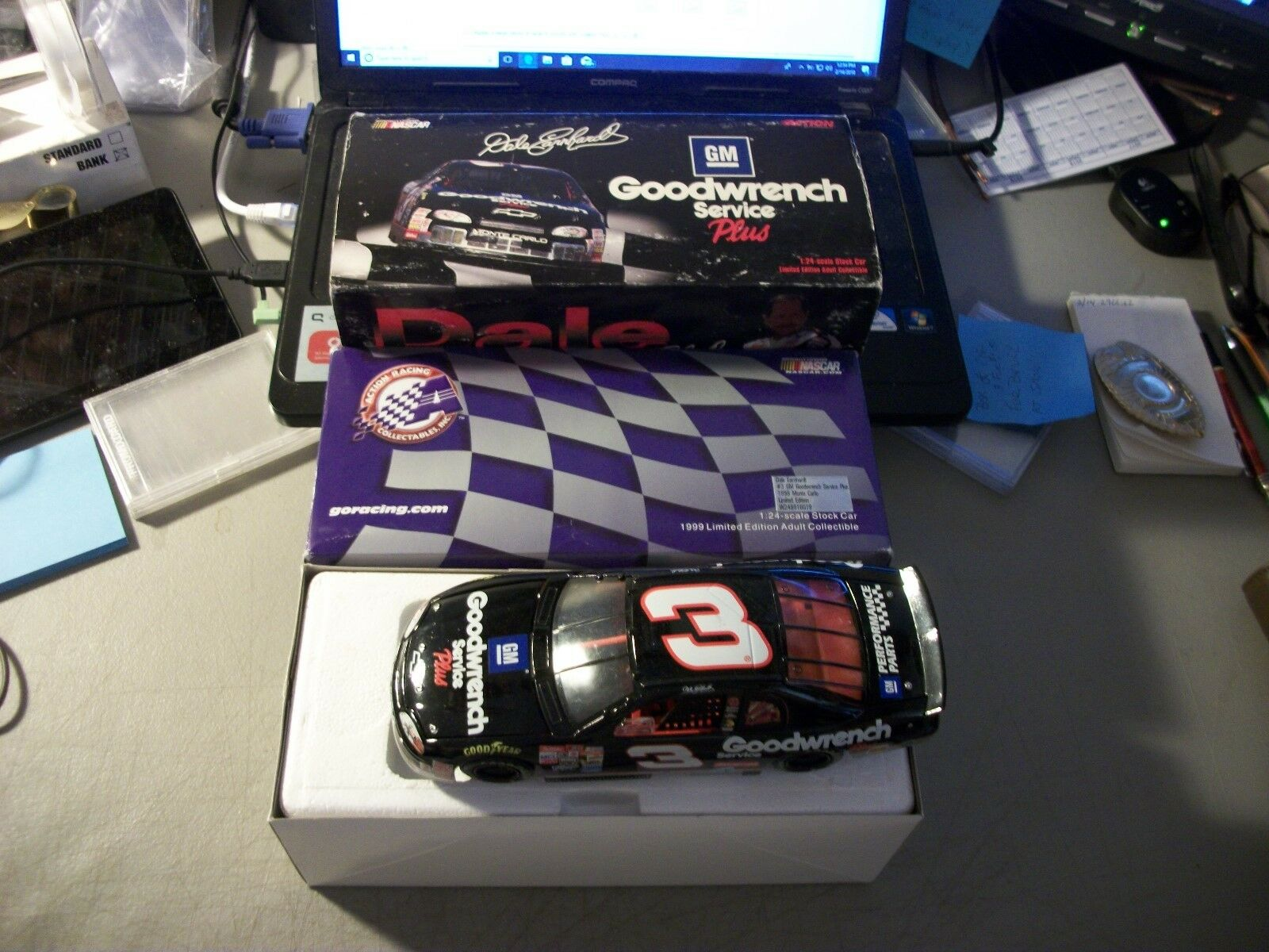 1999 ACTION DALE EARNHARDT GOODWRENCH SERVICE PLUS 1 24 MONTE CARLO IN BOX