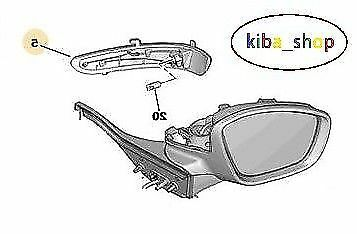PEUGEOT 208 2008 12-16 WING MIRROR INDICATOR REPEATER RIGHT SIDE O//S DRIVER