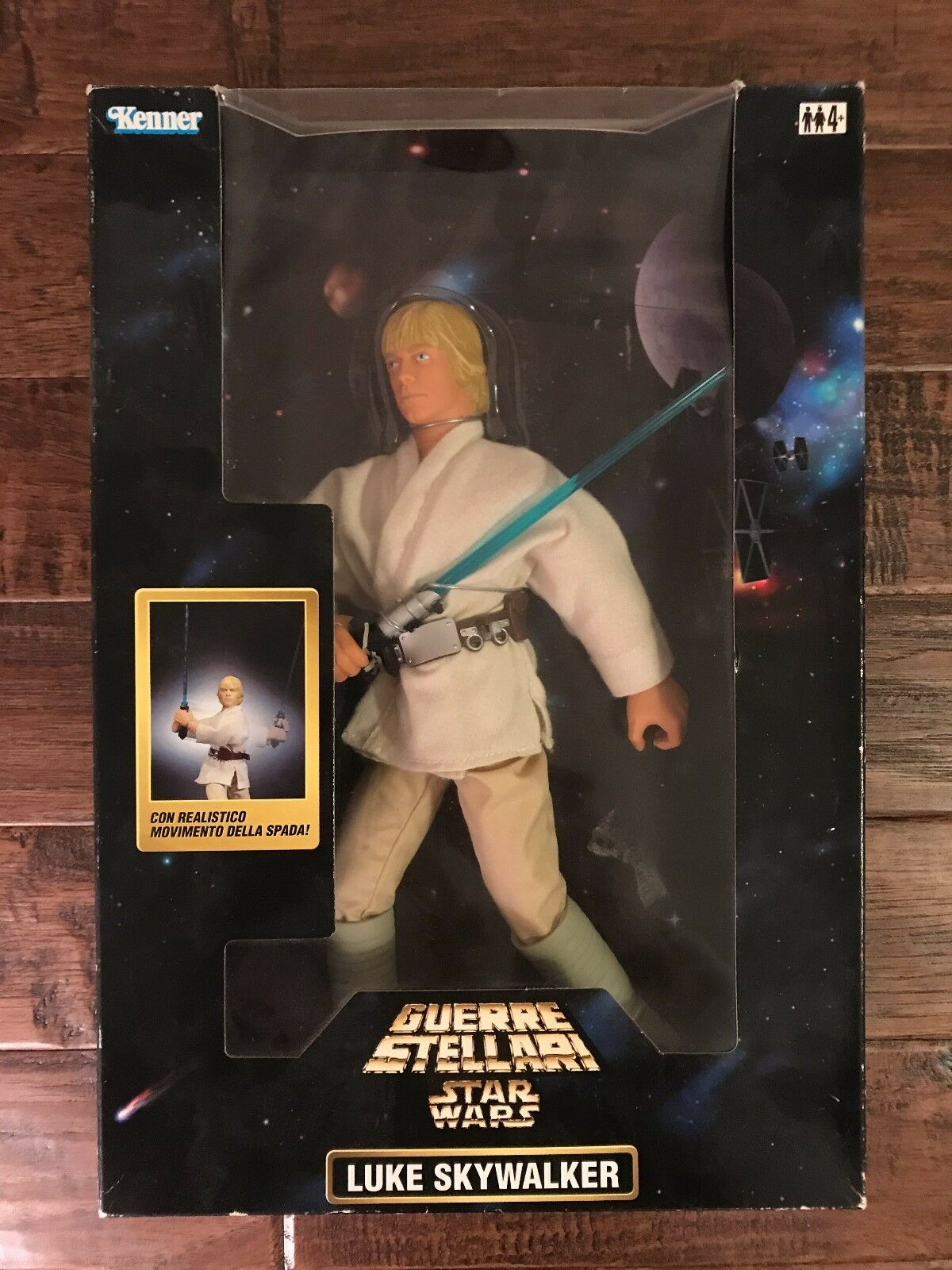 1998 (GiGi)  STAR WARS  (Guerre Stellari) LUKE SKYWALKER (Italian) Figure, NEW