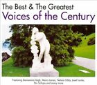 The Best & The Greatest Voices of the Century [Box] by Various Artists (CD, 2010, 3 Discs, Musidisk)