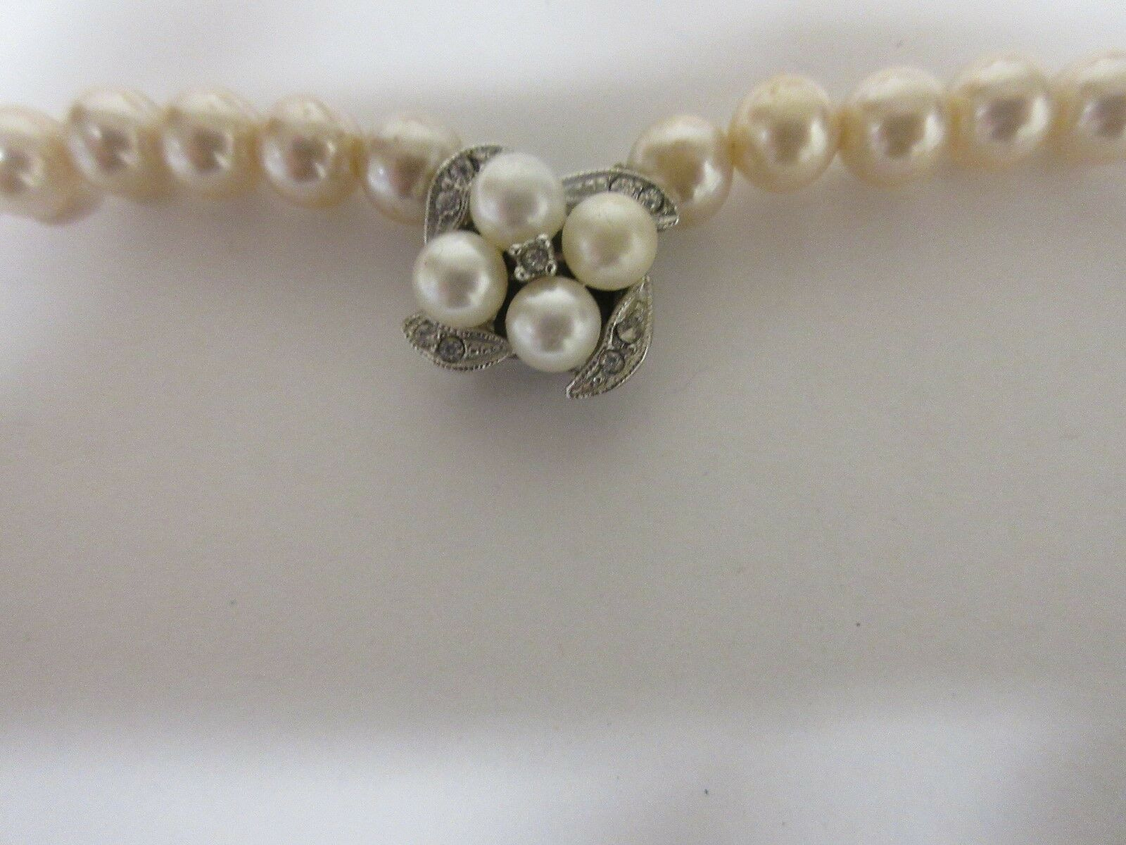 """Costume Jewelry , Necklace , Simulated Pearl , 30"""" , Vi"""
