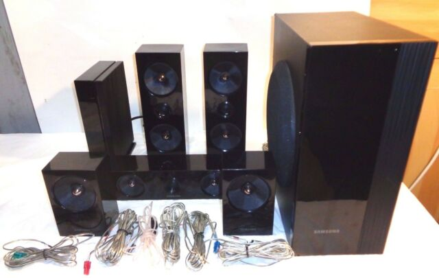 SamsungHT-E6500W 5.1 Channel Home Theater System - Speakers and Subwoofer Only